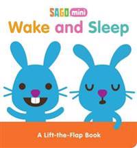 Wake and Sleep: A Lift-The-Flap Book