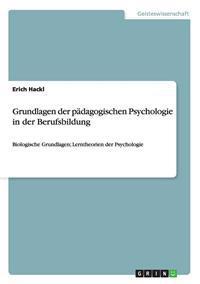 Grundlagen Der Padagogischen Psychologie in Der Berufsbildung
