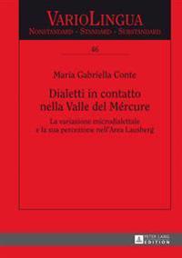 Dialetti in Contatto Nella Valle del Mercure: La Variazione Microdialettale E La Sua Percezione Nell'area Lausberg