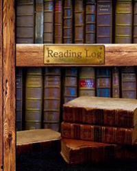 """Reading Log: Gifts for Book Lovers / Reading Journal [ Softback * Large (8"""" X 10"""") * Antique Books * 100 Spacious Record Pages & Mo"""