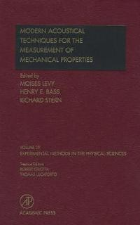 Modern Acoustical Techniques for the Measurement of Mechanical Properties