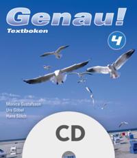 Genau! 4 Textbokens elev-cd för komplettering (5-pack)