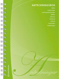 Anteckningsbok - 192 sidor anteckningsmöjligheter -  pdf epub