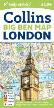 London Big Ben Map
