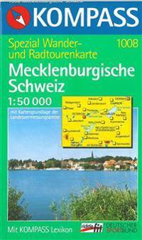 Mecklenburgische Schweiz, Kompass Wanderkarte 1008