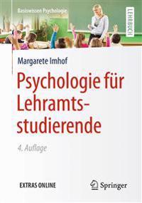 Psychologie Fur Lehramtsstudierende