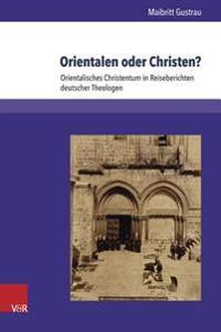Orientalen Oder Christen?
