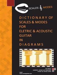 Dictionary of Scales & Modes for Eletric & Acoustic Guitar in D I A G R A M S: Scales and Modes