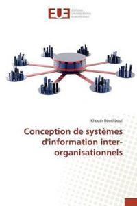 Conception de Syst�mes Dinformation Inter-Organisationnels
