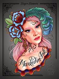 Marked in Ink Adult Coloring Book