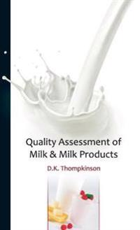 Quality Assessment of Milk & Milk Products