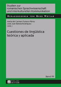 Cuestiones de lingüística teórica y aplicada
