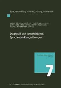 Diagnostik Von (Umschriebenen) Sprachentwicklungsstoerungen