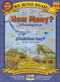 How Many? Cuantos Hay?: Spanish/English Bilingual Edition (We Both Read - Level Pk-K): A Counting Book