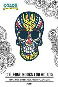 Relaxing and Stress Relieving Skulls Designs Part 1