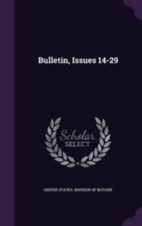 Bulletin, Issues 14-29