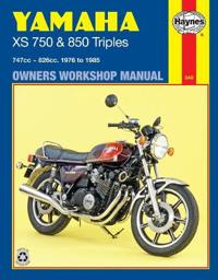 Yamaha Xs750 and 850 Triples Owners Workshop Manual