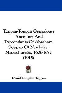 Tappan-toppan Genealogy