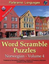 Parleremo Languages Word Scramble Puzzles Norwegian - Volume 4