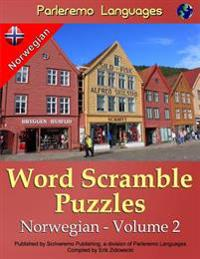 Parleremo Languages Word Scramble Puzzles Norwegian - Volume 2