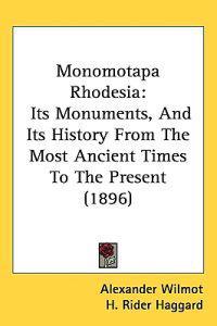 Monomotapa Rhodesia