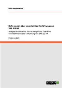 Reflexionen Uber Eine Steinige Einfuhrung Von SAP R/3 HR