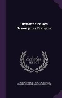 Dictionnaire Des Synonymes Francois
