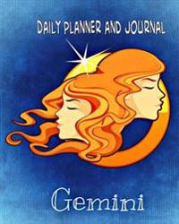Daily Planner and Journal - Gemini (Quick Appointment -Task Section): Personal Organizer for Daily Activities and Appointments