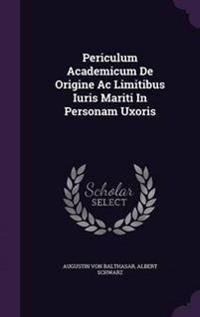 Periculum Academicum de Origine AC Limitibus Iuris Mariti in Personam Uxoris