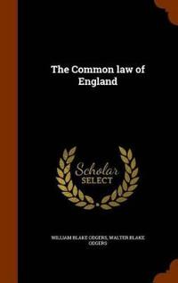 The Common Law of England