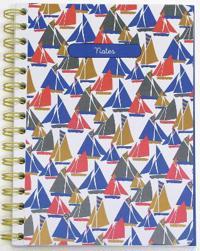Seasalt: Life by the Sea Medium Spiral-Bound Notebook
