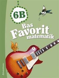 Bas Favorit matematik 6B Elevpaket (Bok + digital produkt)