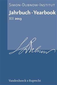 Jahrbuch des Simon-Dubnow-Instituts 2013 / Simon Dubnow Institute Yearbook 2013