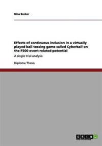 Effects of Continuous Inclusion in a Virtually Played Ball Tossing Game Called Cyberball on the P300 Event-Related-Potential