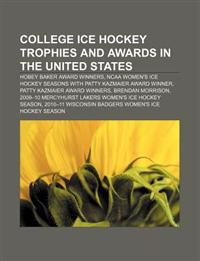 College Ice Hockey Trophies and Awards in the United States
