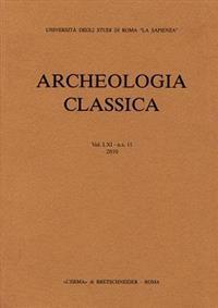 Archeologia Classica 2010 Vol61, NS 11
