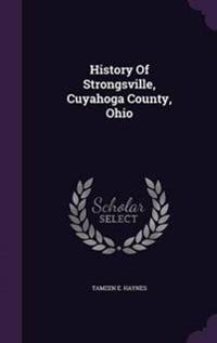 History of Strongsville, Cuyahoga County, Ohio