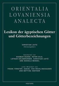 Lexikon Der Agyptischen Gotter Und Gotterbezeichnungen: Band III