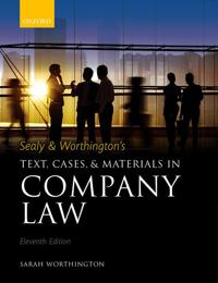 SealyWorthington's Text, Cases, and Materials in Company Law