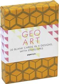 Geo Art Classic Notecards