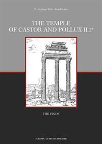 The Temple of Castor and Pollux Ii,1: The Finds
