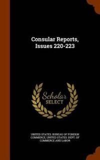 Consular Reports, Issues 220-223