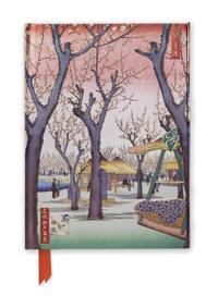 Hiroshige: Plum Garden (Foiled Journal)