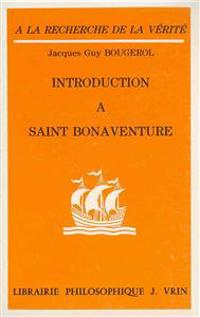 Introduction a Saint Bonaventure