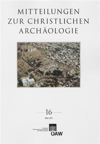 Mitteilungen Zur Christlichen Archaologie 16