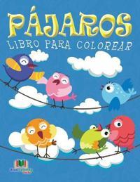 Pajaros Libro Para Colorear