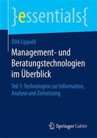 Management- Und Beratungstechnologien Im Uberblick