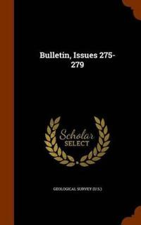 Bulletin, Issues 275-279