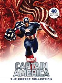 Captain America: The Poster Collection: 40 Removable Posters