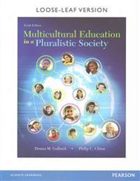 Multicultural Education in a Pluralistic Society, Enhanced Pearson Etext with Loose-Leaf Version -- Access Card Package [With Access Code]